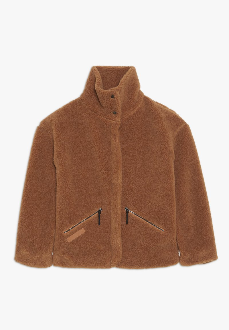 Didriksons - BERN GIRLS JACKET - Outdoor jacket - toffee brown