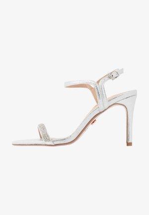 BLINK PART  - High heeled sandals - silver