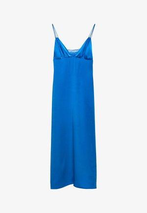 Cocktail dress / Party dress - neon blue