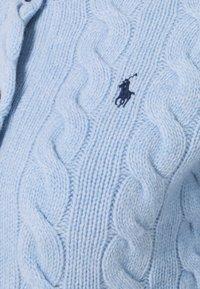 Polo Ralph Lauren - CARDIGAN LONG SLEEVE - Kardigan - light blue heather - 2