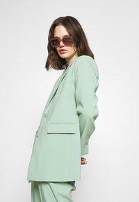 Part Two - Short coat - granite green - 3