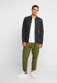 Be Edgy - BETRAVER - Denim jacket - black used - 1