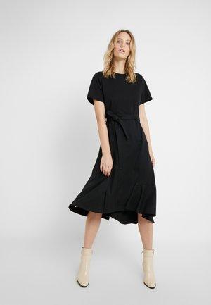 COMBO DRESS - Žerzejové šaty - black