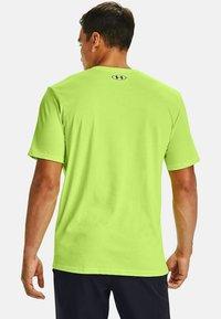 Under Armour - Print T-shirt - lime fizz - 1