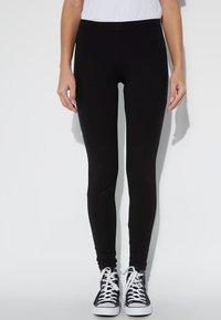 Tezenis - BASIC - Leggings - Trousers - nero - 0