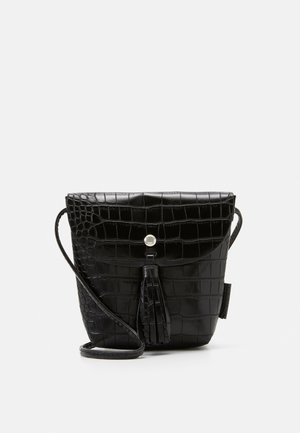 IDA CROC - Across body bag - black