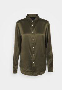CHARMEUSE - Button-down blouse - expedition olive