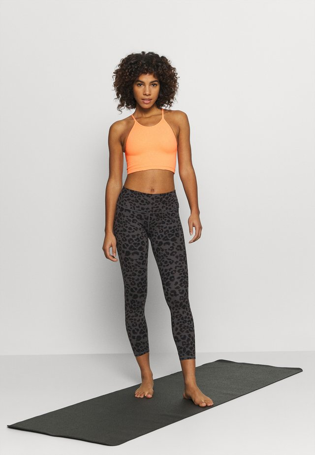 CROPPED RUN TANK - Equipement de fitness et yoga - peach horizon