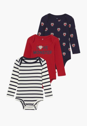 LOVE BABY 3 PACK - Body - modern red