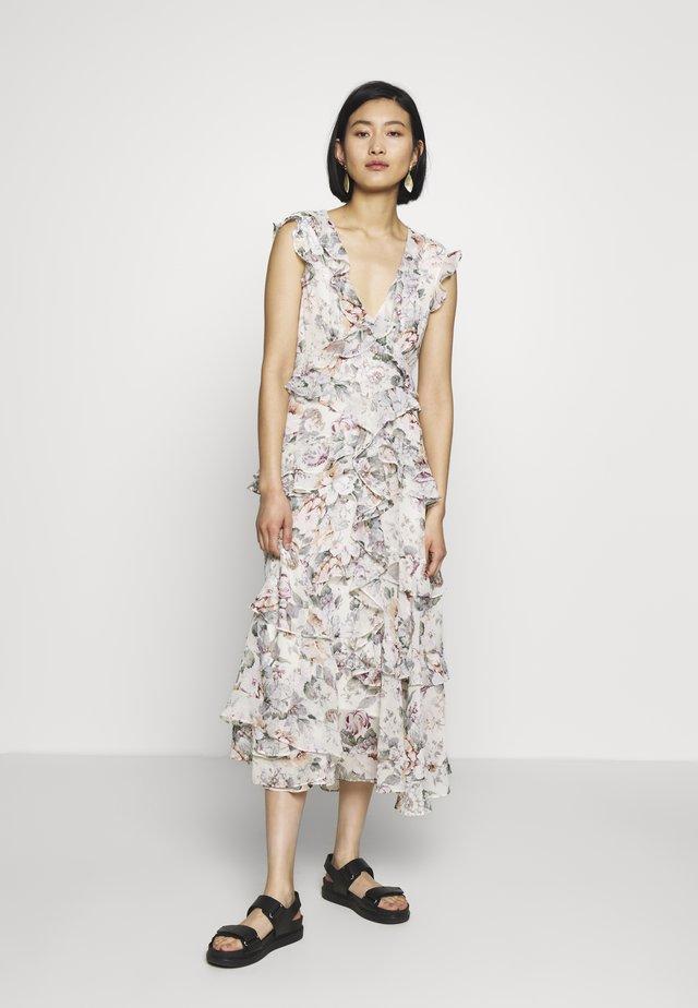 NELLY FLORAL DRESS - Robe d'été - ivory