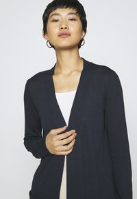 TOM TAILOR - CARDIGAN LONG - Cardigan - sky captain blue - 3