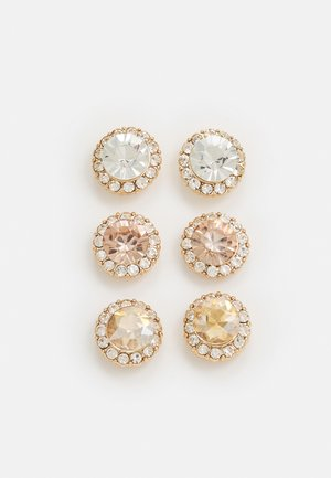 GWOSA 3 PACK - Earrings - blush