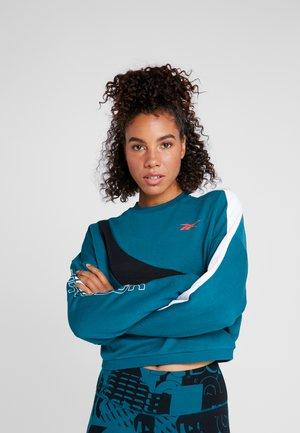 WOR COLORBLOCKED CREW - Sweatshirt - hertea