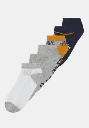 NKMFELIM 6 PACK - Sokken - light grey melange