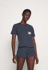 Anna Field - Pyjamas - dark blue - 0