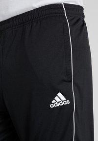 adidas Performance - CORE ELEVEN AEROREADY 3/4 SPORT PANTS - Träningsshorts 3/4-längd - black/white - 4