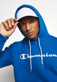 Champion - LEGACY HOODED - Mikina s kapucí - blue - 3