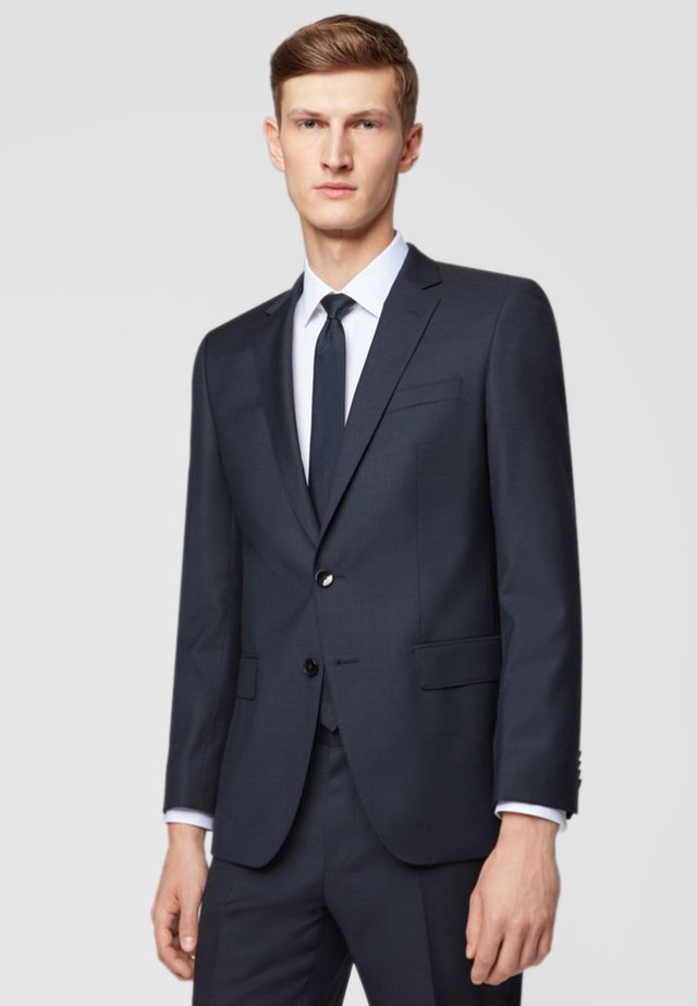 HUGE/GENIUS Slim Fit - Suit - dark blue