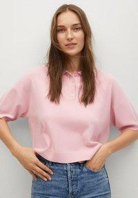 Mango - NURIET - Polo shirt - roze - 0