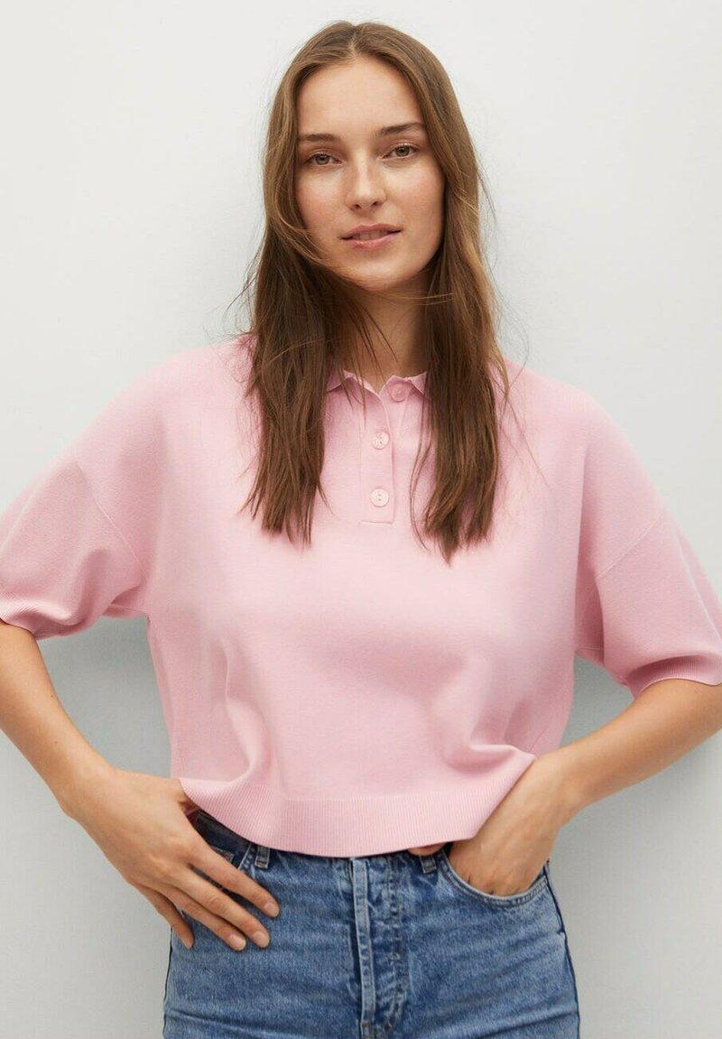 Mango - NURIET - Polo shirt - roze