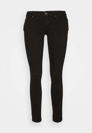 ONLCORAL LIFE POWER - Jeans Skinny Fit - black denim