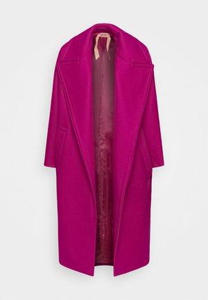 Classic coat - fuxia