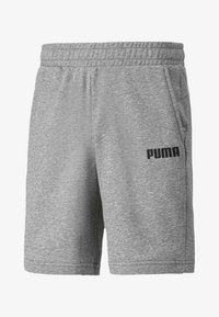 Puma - ESSENTIALS  - Shorts - medium gray heather - 0
