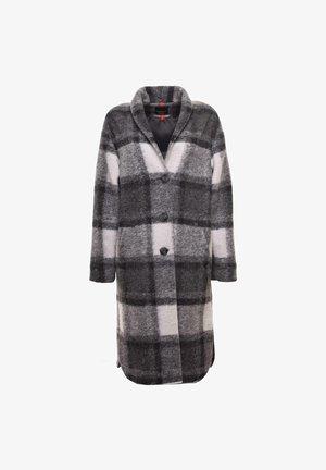 Short coat - schwarz grau gemuster