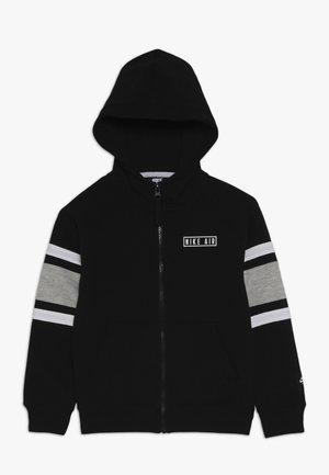 AIR HOODIE - Zip-up hoodie - black