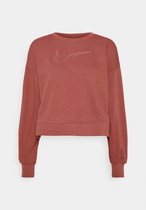 DRY GET FIT CREW - Sweatshirt - canyon rust/rust pink