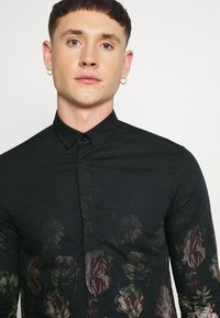 Twisted Tailor - STRAUSS - Camicia - black - 3