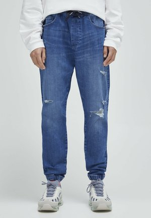 Jeans relaxed fit - blue-grey