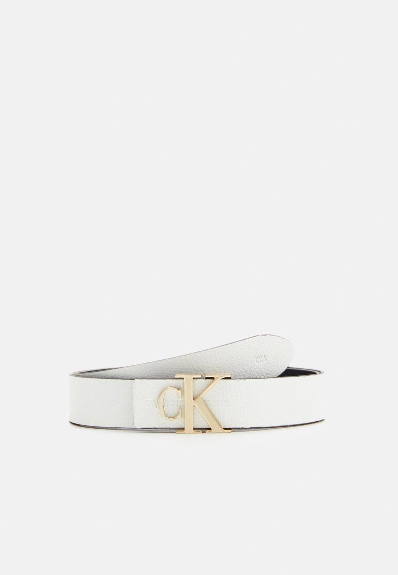 Calvin Klein Jeans - LOGO - Cinturón - white
