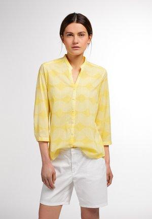 Button-down blouse - gelb