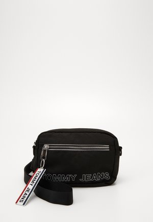 LOGO TAPE CONV CROSSBODY - Across body bag - black