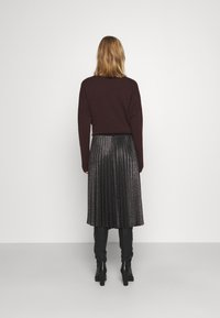 iBlues - DERRIS - A-line skirt - grigio ardesia - 2