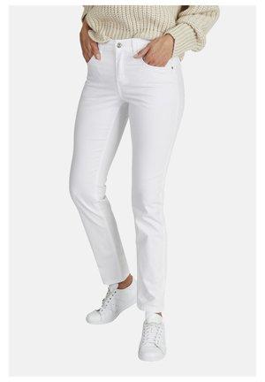 Slim fit jeans - weiãŸ