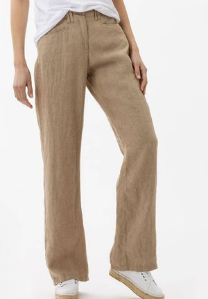 STYLE FARINA - Trousers - sand