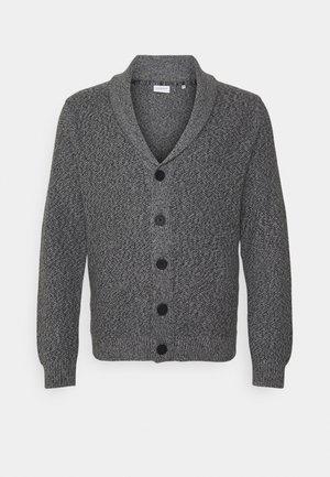 PLUS - Kardigan - dark grey melange