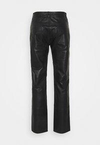 Serge Pariente - Leather trousers - black - 1