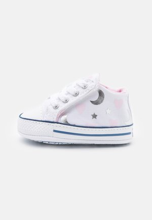 CHUCK TAYLOR CRIBSTER - Chaussons pour bébé - white/pink/silver