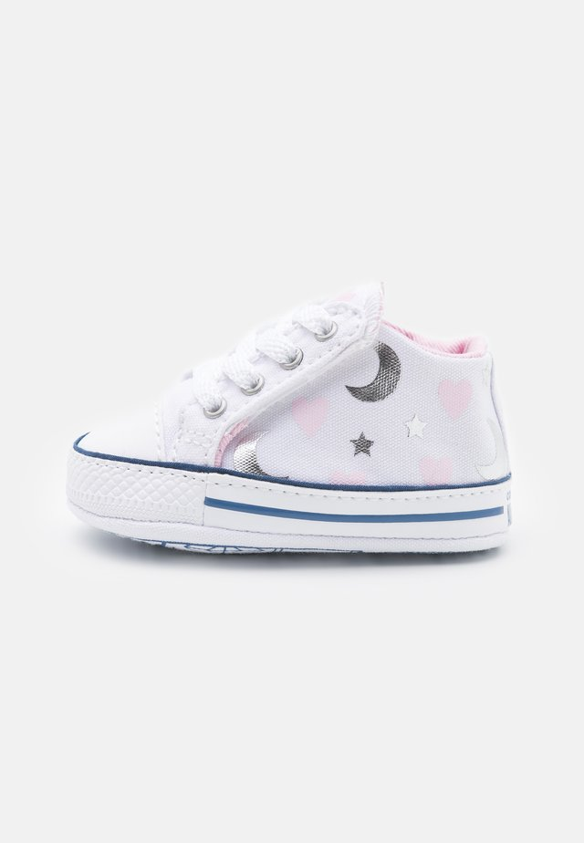 CHUCK TAYLOR CRIBSTER - First shoes - white/pink/silver