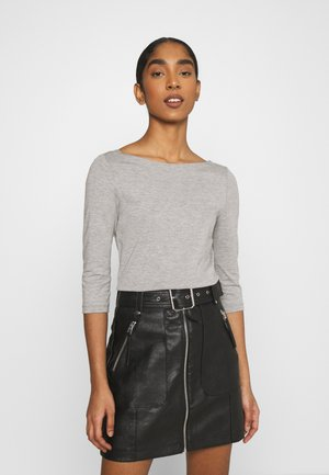 ONLAYA BOATNECK - Long sleeved top - light grey
