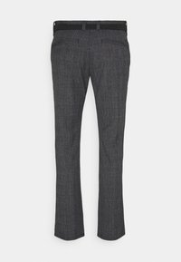 TOM TAILOR DENIM - STRUCTURED - Chino kalhoty - navy grindle - 1
