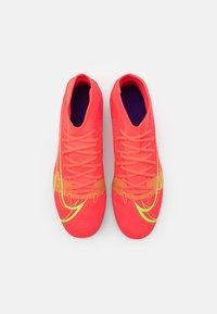 Nike Performance - MERCURIAL 8 CLUB MG - Moulded stud football boots - bright crimson/metallic silver - 3