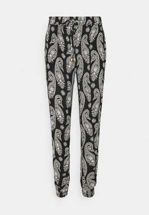 AMBER PANTS - Trousers - black