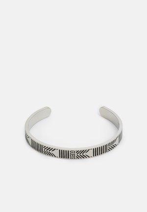 C-BANGLE JET UNISEX - Bracelet - antique silver-coloured