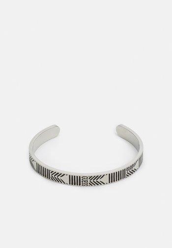 C-BANGLE JET UNISEX - Armband - antique silver-coloured