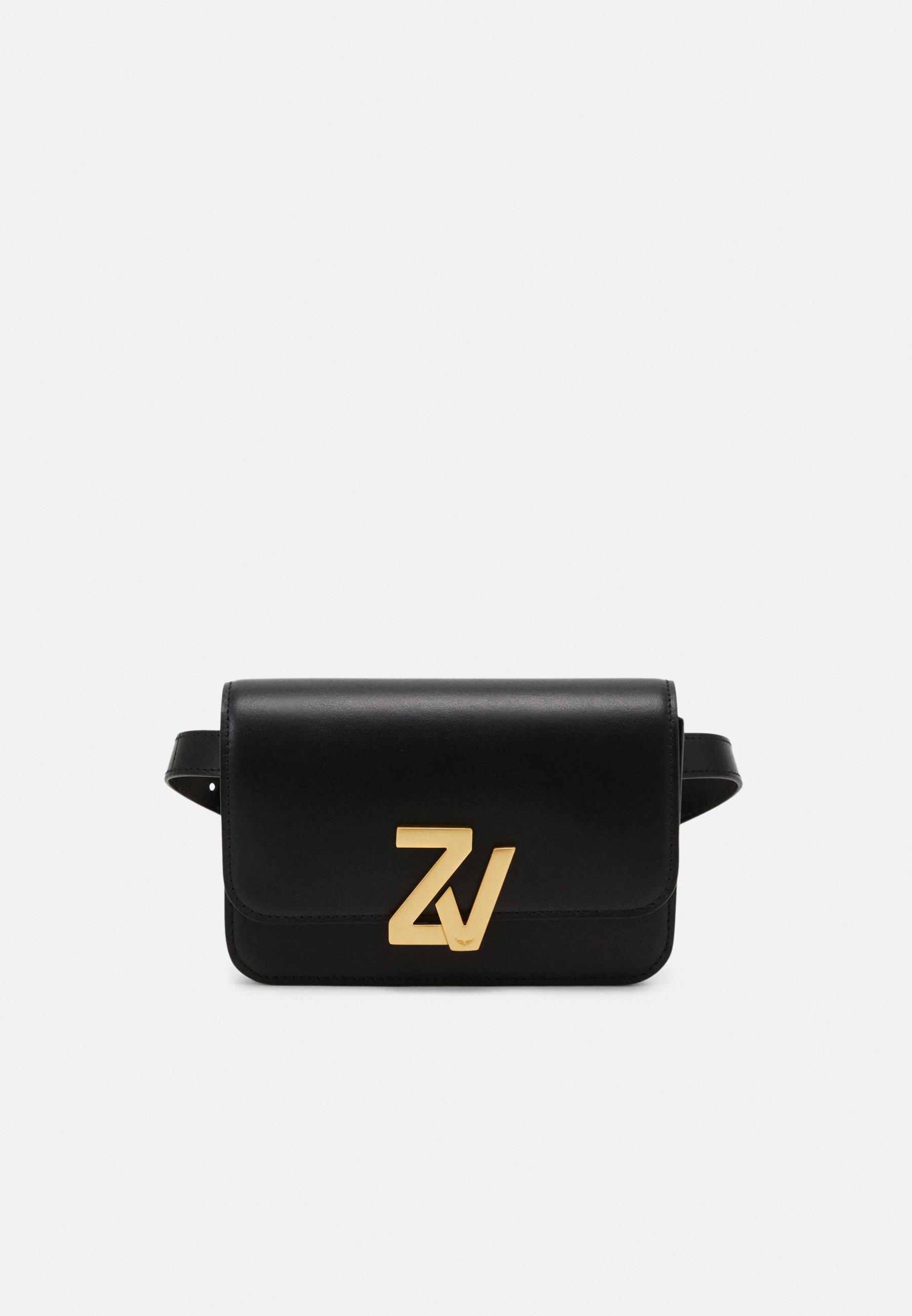 Zadig & Voltaire INITIALE - Rumpetaske - noir/svart tIuXQnawb9jO5HK