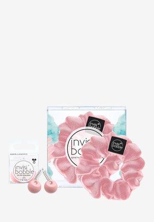 INVISIBOBBLE TWINS & SPRUNCHIE SET - Accessoires cheveux - pink